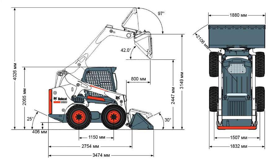 Мини-погрузчик Bobcat S650