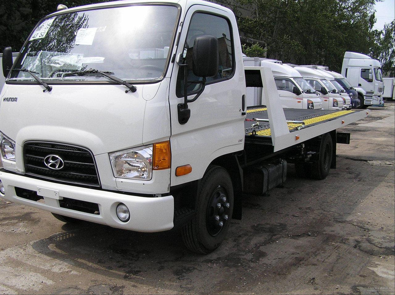 Эвакуатор Hyundai HD 72