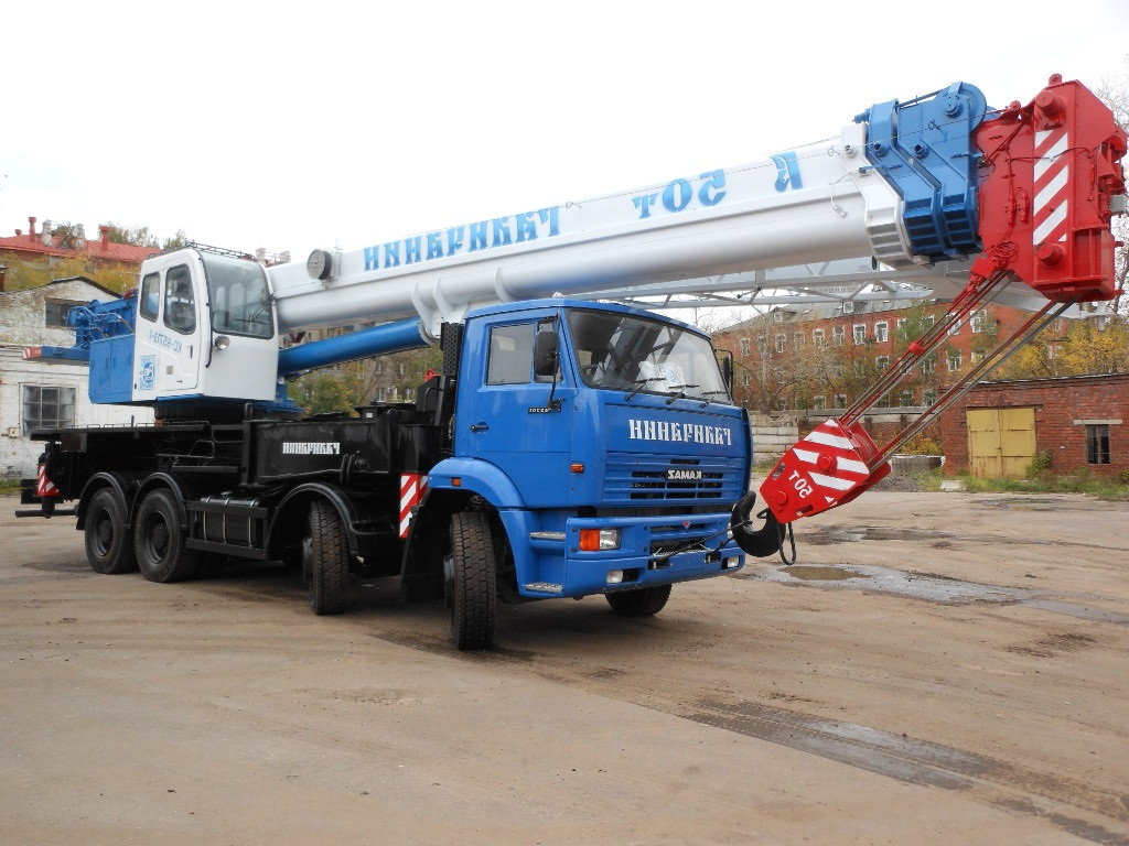 Автокран 50 тонн Галичанин КС-65715-1